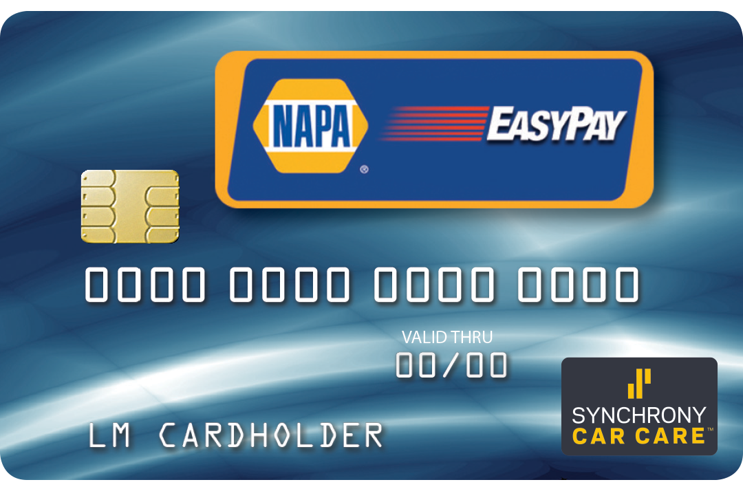 Apply for NAPA EasyPay Credit Card Here